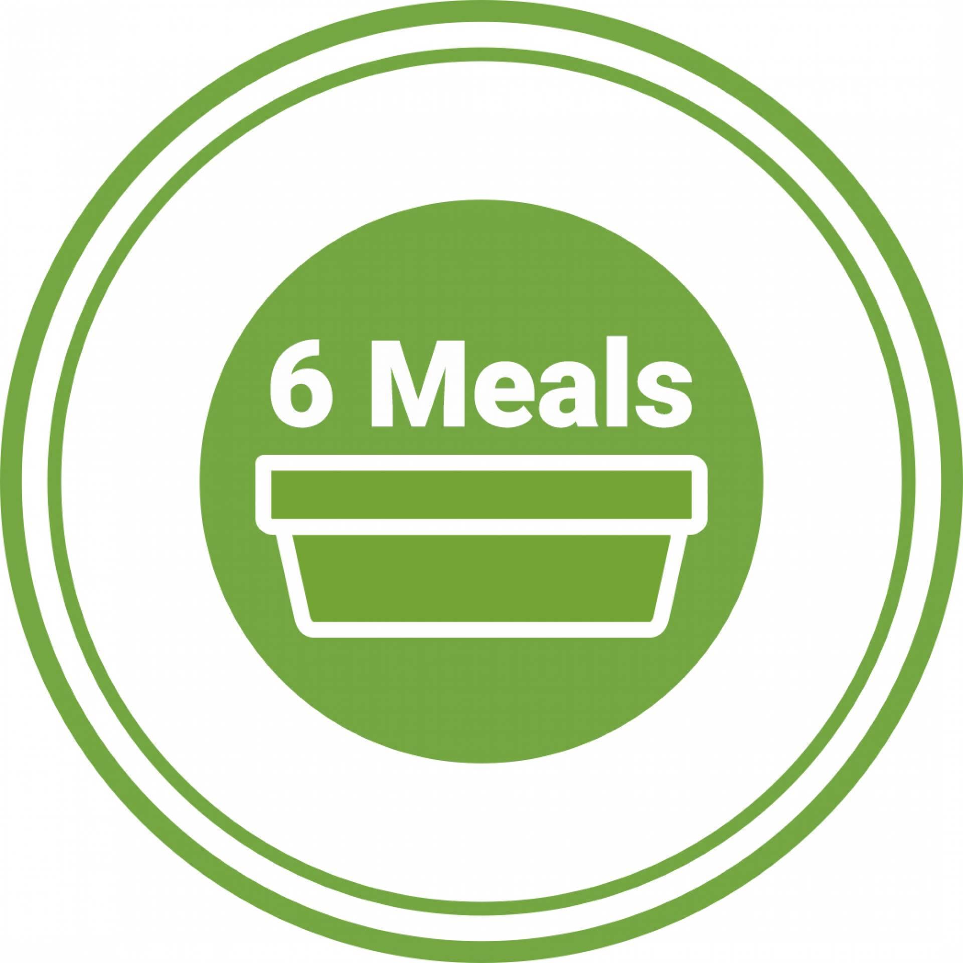 6 Meals