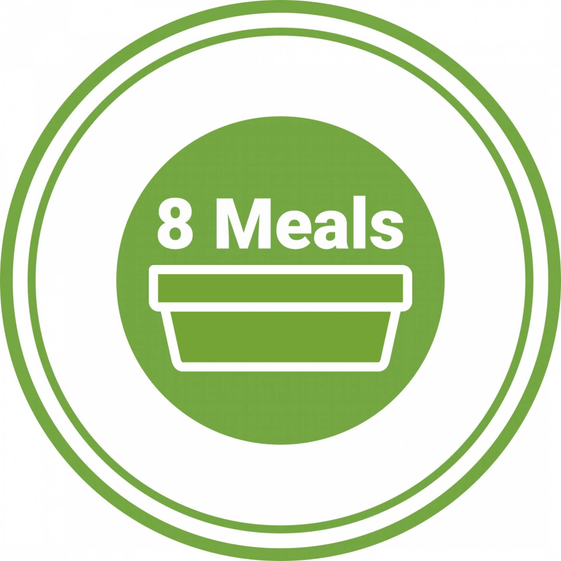 8 Meals